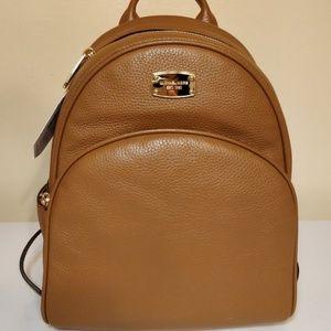 MICHAEL KORS ABBEY MEDIUM Backpack Bag In Acorn
